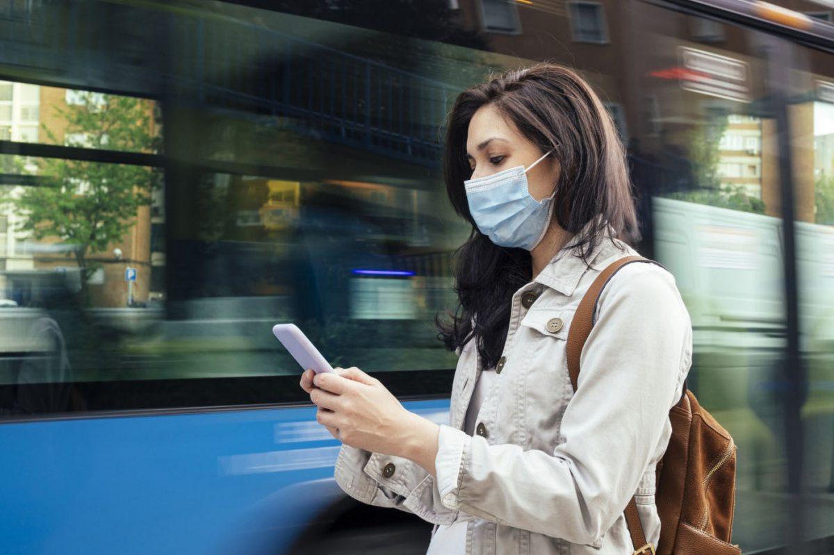 usar máscara na rua